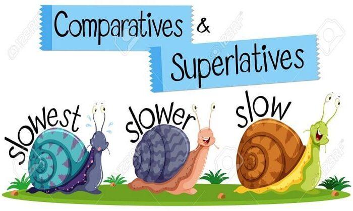 İngilizce sıfatlarda dereceler | Comparisons (Comperative and Superlative)