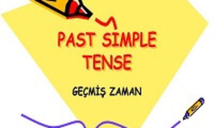 Simple Past Tense ( -di'li geçmiş zaman) | Past Simple Tense