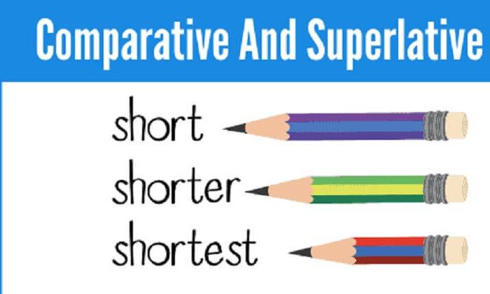 İngilizce sıfatlarda dereceler ile ilgili örnekler | Comperative and Superlative